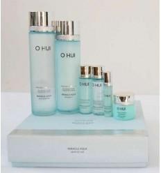 Набор антивозрастной для интенсивного увлажнения кожи O HUI Miracle Aqua Set 8шт.