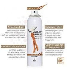 Тональный спрей для ног, Yufit Self Legs Make-up Airbrush Stocking Maquillage SPF50 PA+++ 120ml