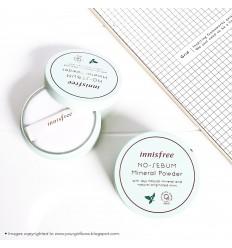 Пудра матирующая минеральная для лица, Innisfree No-Sebum Mineral Powder 5г