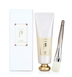 Маска пленка с золотом с кистью The History of Whoo Gongjinhyang UI: Gold Peel off Mask 80ml