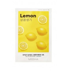 Маска для лица с экстрактом лимона Missha Airy Fit Sheet Mask Lemon 19g