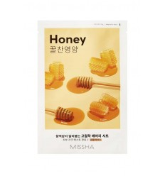 Маска тканевая для лица с экстрактом меда, Missha Airy Fit Sheet Mask Honey