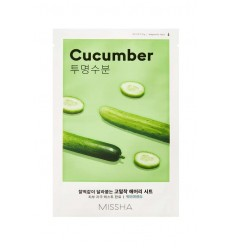 Маска для лица с экстрактом огурца Missha Airy Fit Sheet Mask Cucumber 19g