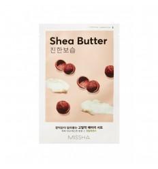 Маска для лица с маслом ши, Missha  Airy Fit Sheet Mask Shea Butter