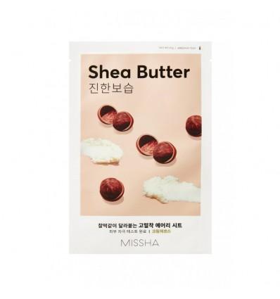 Маска для лица с маслом ши Missha Airy Fit Sheet Mask Shea Butter 19g