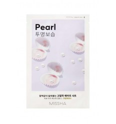 Маска для лица с экстрактом жемчуга, Missha Airy Fit Sheet Mask Pearl