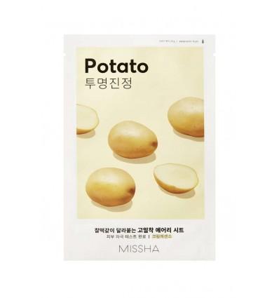Маска тканевая для лица с экстрактом картофеля, Missha Airy Fit Sheet Mask Potato
