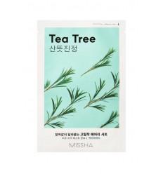 Маска тканевая для лица с экстрактом чайного дерева, Missha Airy Fit Sheet Mask Tea Tree