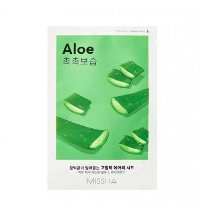 Маска тканевая для лица с экстрактом алоэ, Missha Airy Fit Sheet Mask Aloe