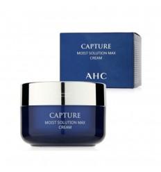 Крем активно увлажняющий оживляющий для лица, AHC Capture Moist Solution Max Cream 50мл