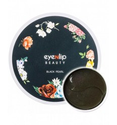 Гидрогелевые патчи для глаз с черным жемчугом Eyenlip Hydrogel Eye Patch Black Pearl