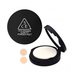Пудра для лица 3CE Stylenanda Slim Fit Powder Pact Soft Beige