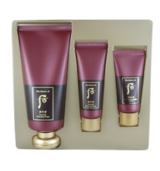 Набор для умывания The History of Whoo Jinyulhyang Essential Cleansing Foam Special Set