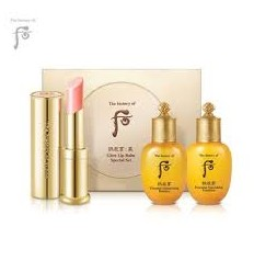 Набор для ухода за губами и кожей The History of Whoo Gongjinhyang: Mi Glow Lip Balm Special Set