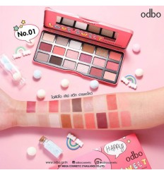 Палетка теней для глаз Odbo Love Sweet Eyeshadow N02