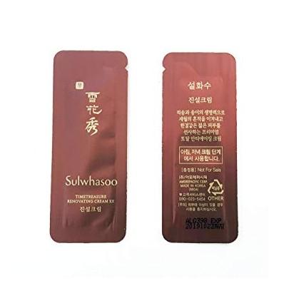 Пробник крема для лица и глаз с антиоксидантами, Sulwhasoo Bloomstay Vitalizing Cream 1мл.