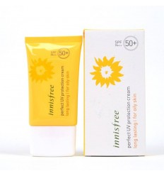 Солнцезащитный крем для жирной кожи, Innisfree Daily UV Protection Cream Long Lasting oily skin SPF50 PA++++ 50мл