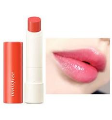 Бальзам-тинт оттеночный увлажняющий для губ с экстрактом календулы, Innisfree Glow Tint Lip Balm N4 Calendula