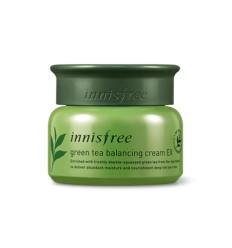 Крем увлажняющий балансирующий с экстрактом зеленого чая, Innisfree Green Tea Balancing Cream EX 50ml