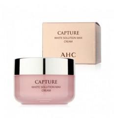 Крем осветляющий оживляющий для лица, AHC Capture White Solution Max Cream 50мл
