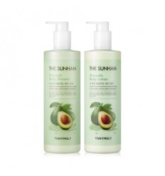 Гель для душа с  экстрактом авокадо Tony Moly The Sunhan Avocado Body Shower 500 мл