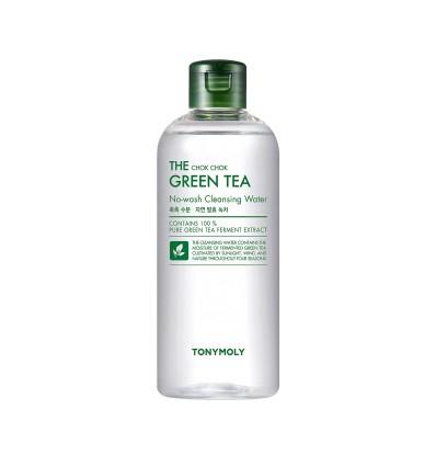 Мицеллярная вода с ферментированным экстрактом зеленого чая  Tony Moly The Chok Chok Green Tea No-Wash Cleansing Water 100 мл