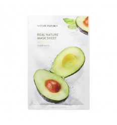 Маска тканевая для лица с маслом ши Nature Republic Real Nature Mask Sheet Shea Butter 23ml
