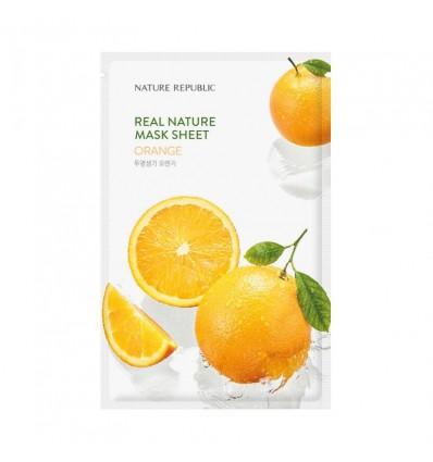 Маска тканевая для лица с экстрактом авокадо Nature Republic Real Nature Mask Sheet Avocado 23ml