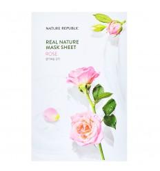 Маска тканевая для лица с экстрактом маточного молочка Nature Republic Real Nature Mask Sheet Royal Jelly 23ml