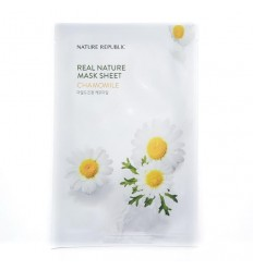 Маска тканевая для лица с экстрактом розы Nature Republic Real Nature Mask Sheet Rose 23ml