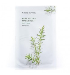 Маска тканевая для лица с экстрактом ромашки Nature Republic Real Nature Mask Sheet Chamomile 23ml