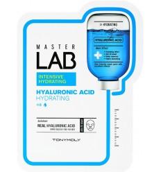 Тканевая увлажняющая маска для лица с гиалуроновой кислотой Tony Moly Master Lab Intensive Hydrating Hyaluronic Acid 19g