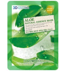 Маска для лица с экстрактом алое FoodAholic Aloe Natural Essence Mask 23g