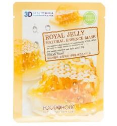 Маска для лица с маточным молочком FoodAholicRoyal Jelly Natural Essence Mask 23g