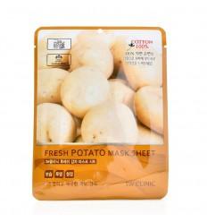 Маска тканевая с экстрактом картофеля 3W Clinic Fresh Potato Mask Sheet 23g