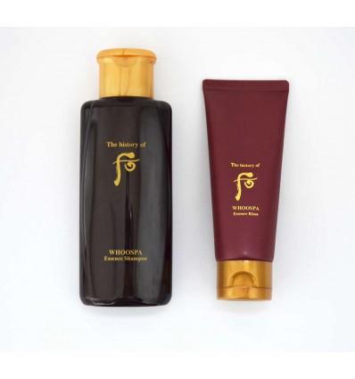 Восстанавливающий набор для всех типов волос The History of Whoo Spa Essence (Shampoo + Rinse)